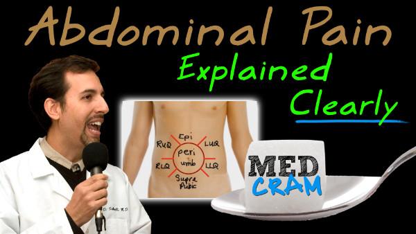 Abdominal Pain medical lecture thumbnail