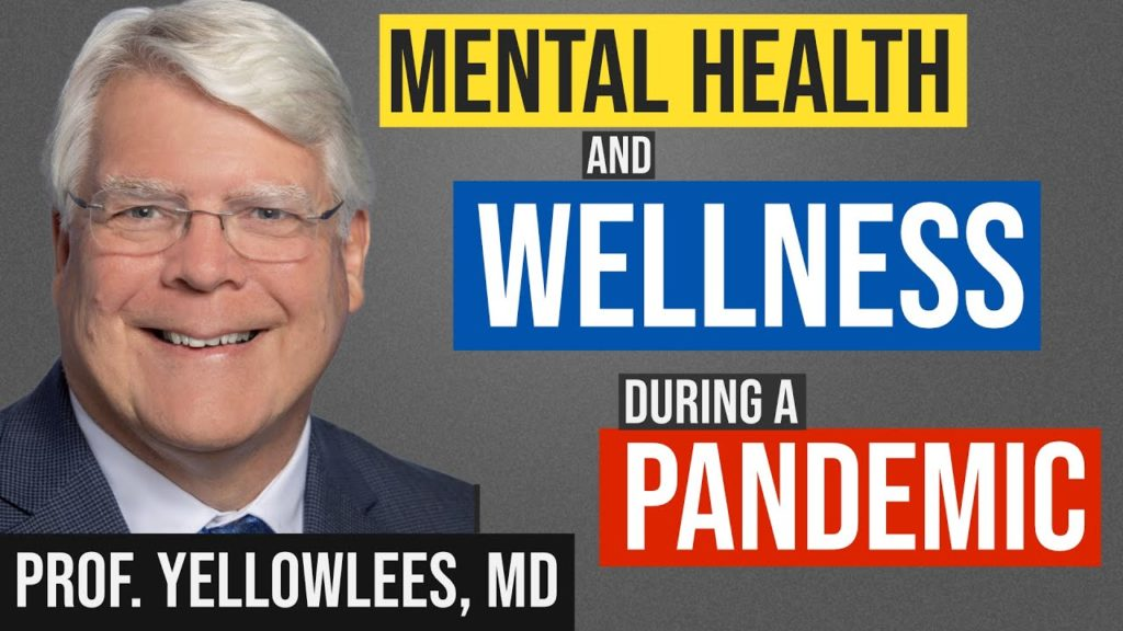 MedCram and Dr. Yellowlees on Mental Health and Wellness During a Pandemic