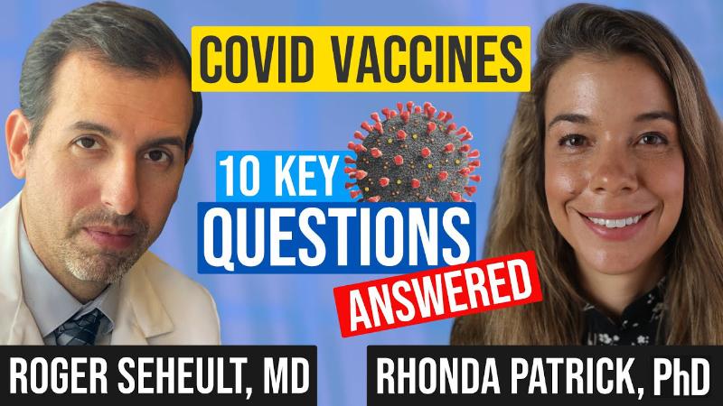 Rhonda Patrick on MedCram - COVID Vaccines